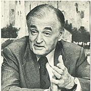 Marcel Prawy Autograph 1980s