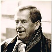 Vaclav Havel Autograph: Signed Photo of Political Leader of Velvet Revolution