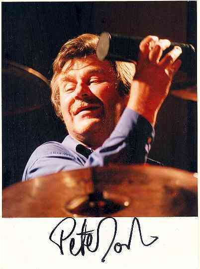 Pete York Autograph. CoA. 1995, Vienna Concert