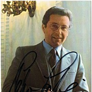 Tenor Peter Schreier Autograph, Signed Photo. CoA