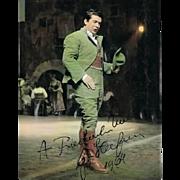 Giuseppe diStefano Autograph. CoA.