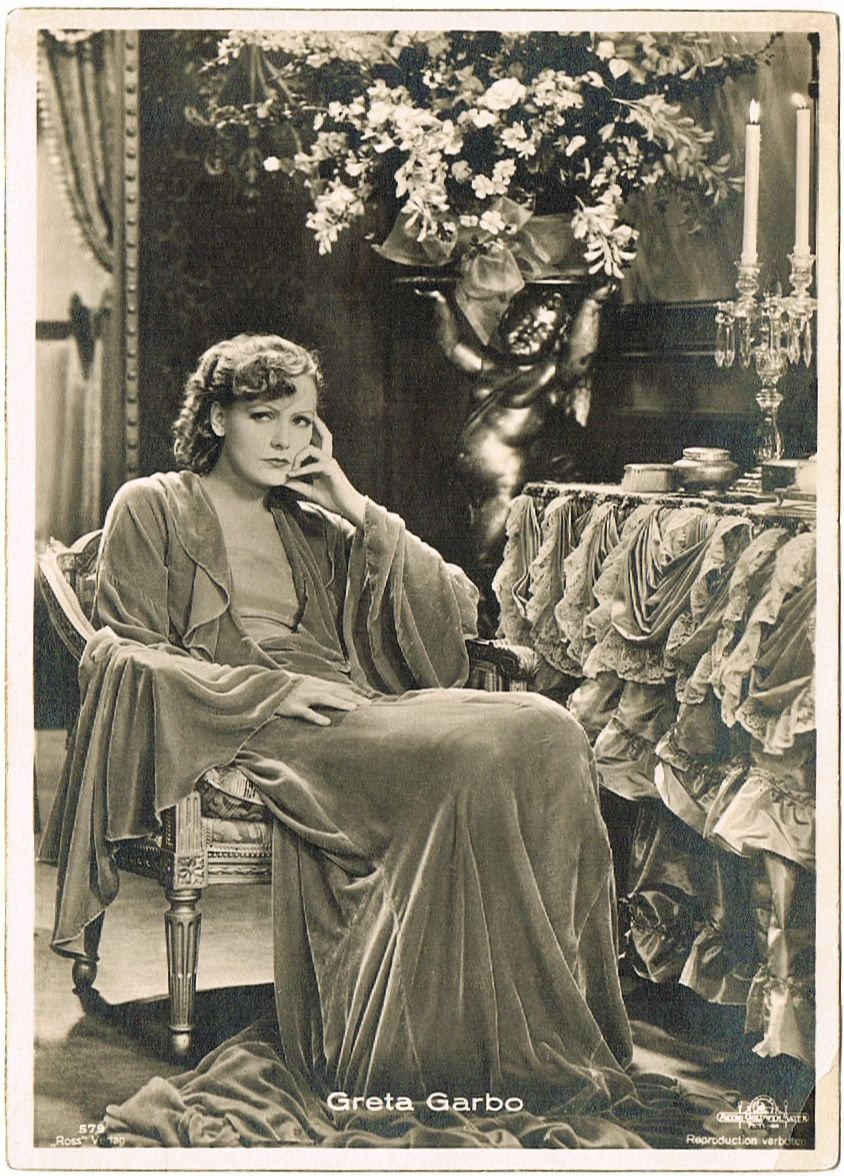 Greta Garbo Photo. Luxury Edition by Ross