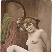 Tinted Risque Photo, c. 1910