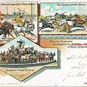 Barnum and Bailey Postcard from 1901