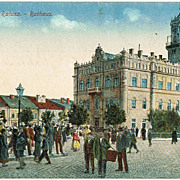 Old Poland, Galicia Jaroslaw Postcard as Field Post