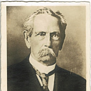 Carl Benz Portrait Photo Postcard app. 1910