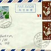 1960: Japan. Miniature Sheet of New Year stamps on  FDC
