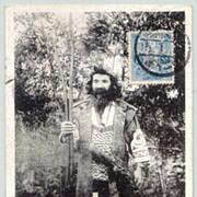 1926: Japan: Hokkaido Tribe member.