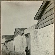 Appr. 1915: Old Turkey. A Boy at a Door