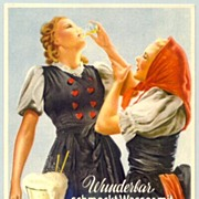 Advertising postcard for a Soft Drink
