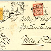 1905: Netherlands Indies / Singapore. Nice Post Card