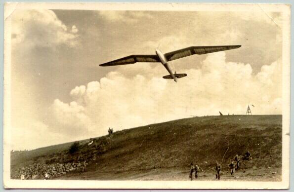 1940: W.W.II Germany: Minimoa Plane in Flight