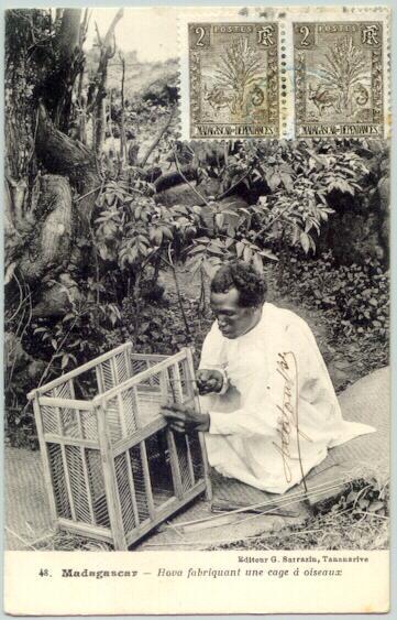 1910: French Colony Madagascar. Vintage Postcard