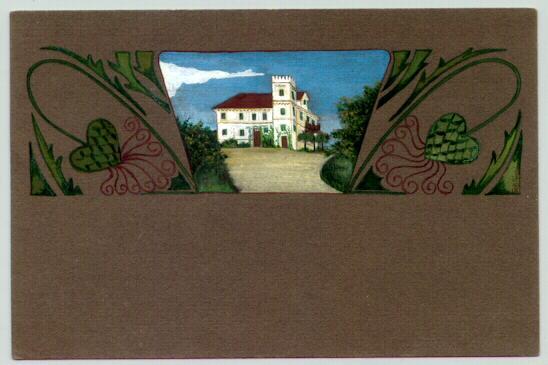 1913: Art Deco / Jugendstil: Handcolored. Attractive Postcard