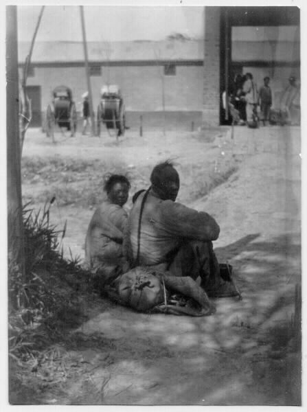 Old China, Boxer Rebellion Period, two Peasants