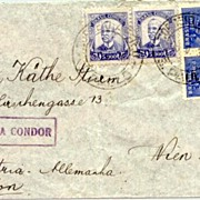 1938: Brasil – Condor Mail to Wien