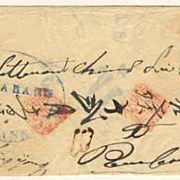 Netherland Indies: Unusual Letter with Chinese Characters
