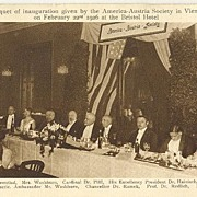 1926: Banquet for the American-Austria Society
