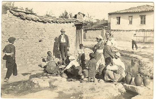 Vintage Photo of European Gypsies c.1930