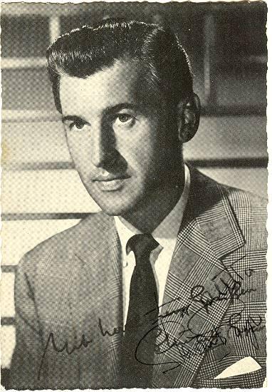Stewart Granger Autograph. MGM Promotion