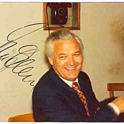 1975: Theo Adam Autograph on Private Photo. CoA