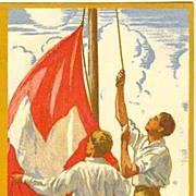 1929: Switzerland. Scarce Courvoisier Postcard  as Air Mail Entire