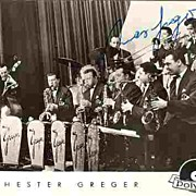 1960s: Big Band Max Greger. Old Photo Postcard with Autograph