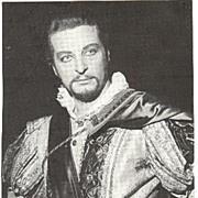 Alfredo Kraus Autograph from 1978. CoA