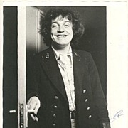Joe Cocker: Very early Autograph: 8 x 10. CoA