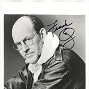 Frank Oz Autograph: Master Yoda. Large Photo, CoA - Red Tag Sale Item