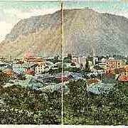 Panorama Postcard of Mostar, 1905