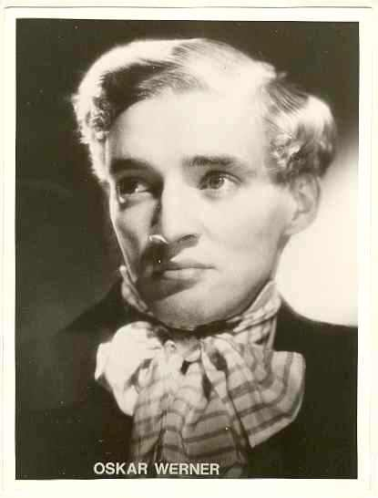Oskar Werner: Early Photograph, 7 x 9.5