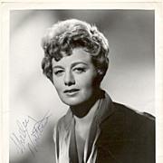 Shelley Winters Autograph: 8 x 10 CoA