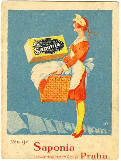Soap Adverstisment from the 1920-30s. Small Folder