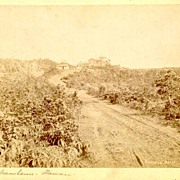 19th Century: Hawaii, Volcano House. Larger Photo