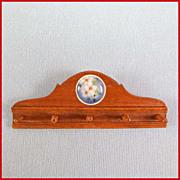 "Dollhouse Miniature Coat Rack by Kaytee Miniatures 1980s 1"" Scale"