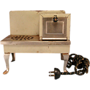 Metal Miniature Electric Toy Range – Possibly made by Metal Ware Corp. 1930s