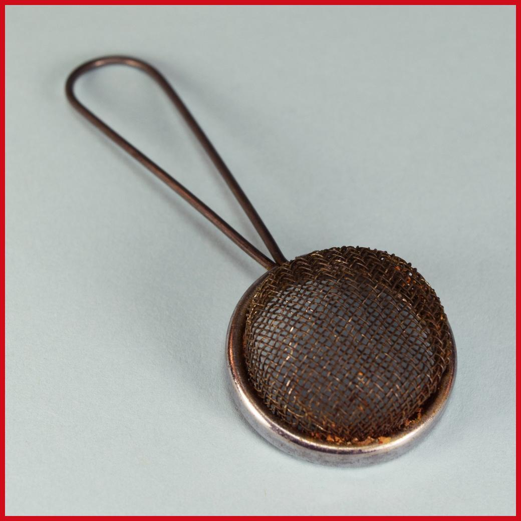 Antique German Wire Mesh Strainer for the Doll Kitchen Late 1800s
