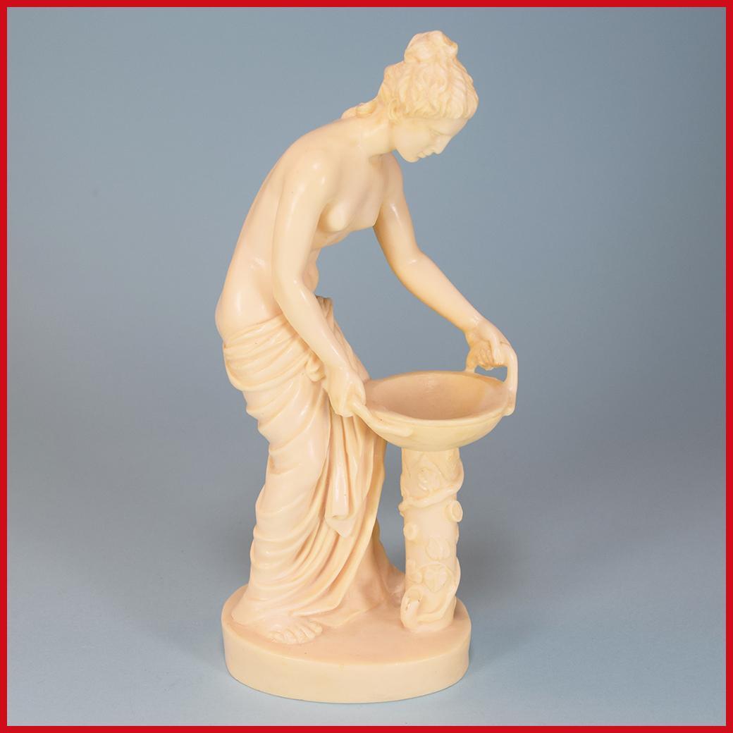 "Vintage 9 1/2"" Danaide Venus Sculpture by A. Santini Italy"