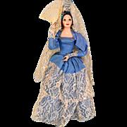 "13"" Spanish Lady Ethnic Doll - Hard Plastic 1960s - 1970s"