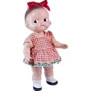 "Campbell Kid Horsman composition girl doll 12""  1948"