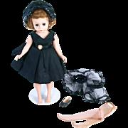 Vintage Cissette Madame Alexander hard plastic doll