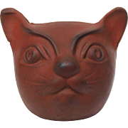 Cats Meow antique Cat head toy rubber 1938 patent US2144933 A inventor Ben Richter toy parts vintage halloween theme
