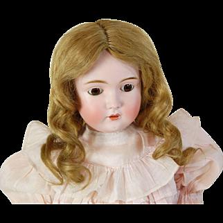 Antique Kestner 171 German bisque head doll K14 original HH wig shoes antique dress 25 inch