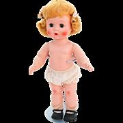 Arranbee R&B Littlest Angel doll 1950s blonde HP bent knee walker molded lash original 10.5 inch