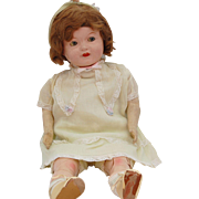 Ideal Composition Flossie Flirt Flirty Eye Mama Doll original clothes shoes 22 inch TLC flange head Ideal diamond logo