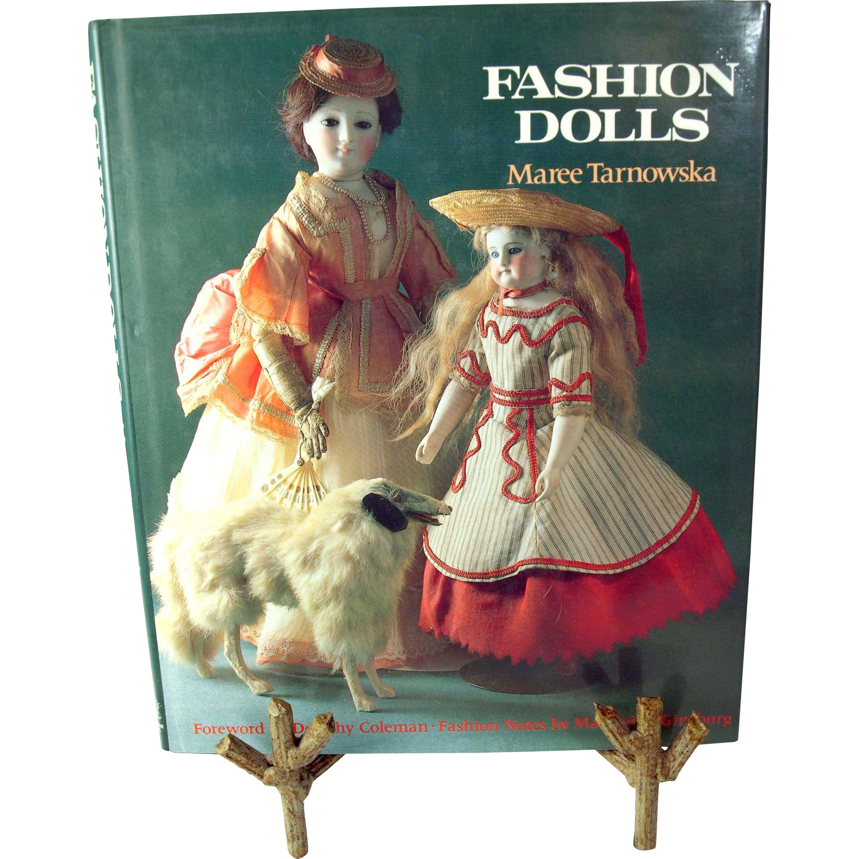Fashion Dolls Maree Tarnowska hardcover with dustjacket doll reference book Hobby House Press First American Edition 1986