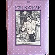 Folkwear Pattern 202 Victorian Farmer's Shirt for men women vintage UNCUT sewing pattern Victorian reenactment theatre plays costuming XS-XL