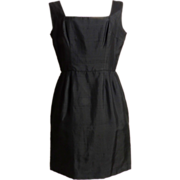 Circa 1950s Little Black Dress