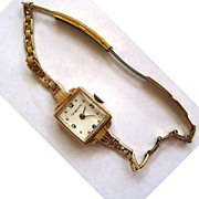 Tiffany & Co 14K Watch with Movado Movement with Gold Filled Watchband